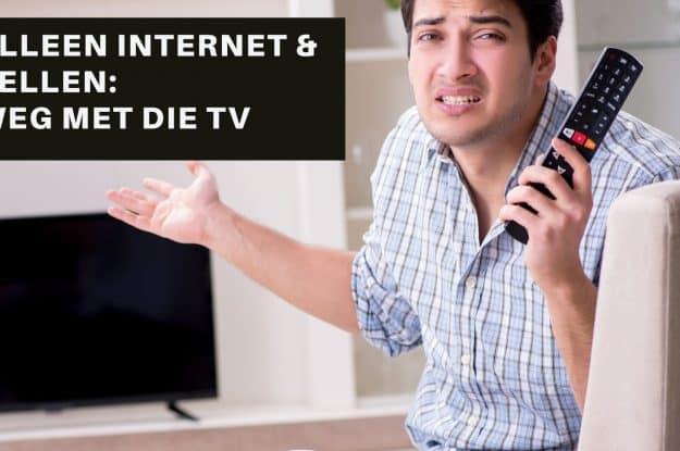 Alleen internet en bellen | Welke pakketten zijn dan voordelig?