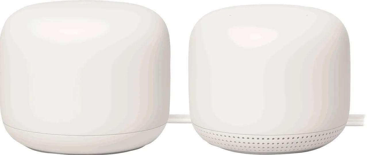 Beste mesh wifi en smart home in 1: Google Nest Wifi