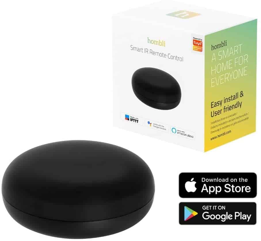 Beste universele afstandsbediening voor je telefoon: Hombli IR Smart Remote Control